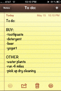 """To Do"" list 2.0, but with room for improvement..."